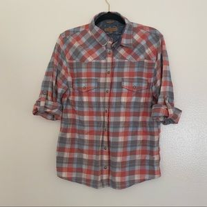 JACHS Girlfriend | Bea | Plaid | Button-Up | M